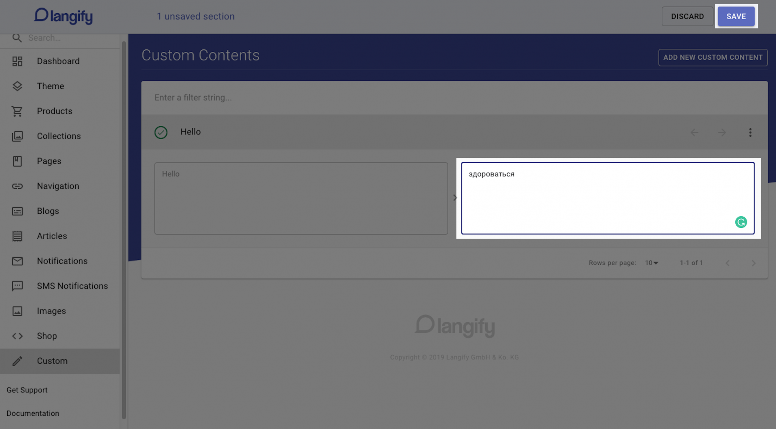 pagefly langify integration 5