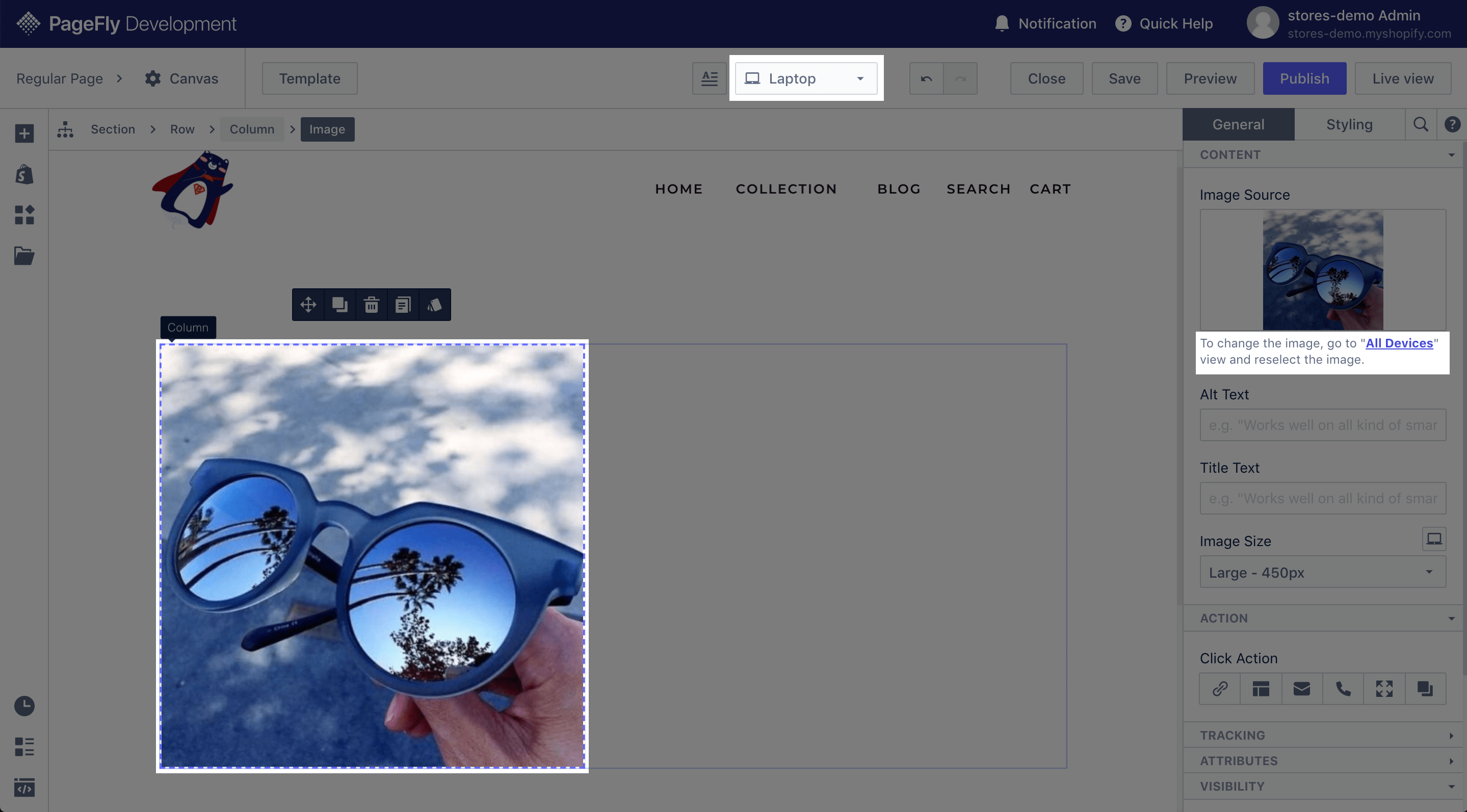 pagefly image element 2
